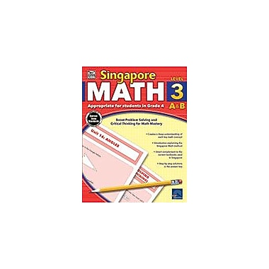 Carson-Dellosa Publishing Singapore Math, Grade 4 Workbook [eBook]