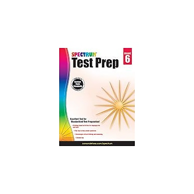 Carson-Dellosa Publishing Spectrum Test Prep, Grade 6 Workbook [eBook]