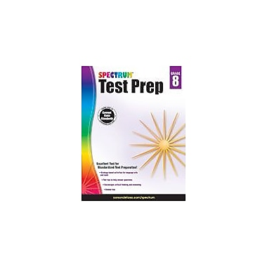 Carson-Dellosa Publishing Spectrum Test Prep, Grade 8 Workbook [eBook]