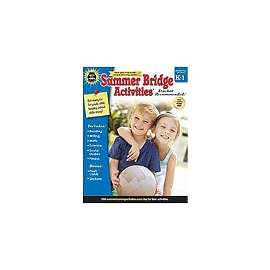 Carson-Dellosa Publishing Summer Bridge Activities , Bridging Grades K 1 Workbook [eBook]
