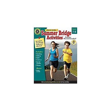 Carson-Dellosa Publishing Summer Bridge Activities , Bridging Grades 7 8 Workbook, Grade 7 - Grade 8 [eBook]