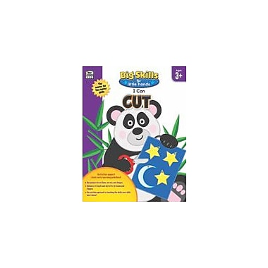 Carson-Dellosa Publishing I Can Cut Workbook, Preschool [eBook]
