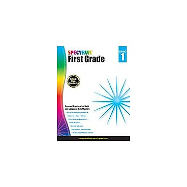 Carson-Dellosa Publishing Spectrum Grade 1 Workbook [eBook]