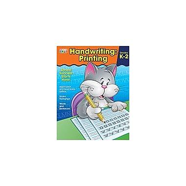 Carson-Dellosa Publishing Handwriting: Printing, Grades K 2 Workbook By Brighter Child, Kindergarten - Grade 2 [eBook]