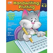 Carson-Dellosa Publishing Handwriting: Printing, Grades K 2 Workbook By Brighter Child, Kindergarten - Grade 2 [eBook]