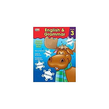 Carson-Dellosa Publishing English & Grammar, Grade 3 Workbook By Brighter Child, Grade 3 [eBook]