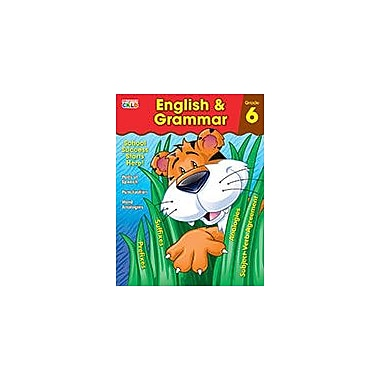 Carson-Dellosa Publishing English & Grammar, Grade 6 Workbook By Brighter Child, Grade 6 [eBook]