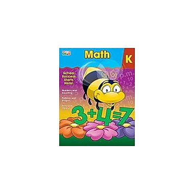 Carson-Dellosa Publishing Math, K Workbook By Brighter Child, Kindergarten [eBook]