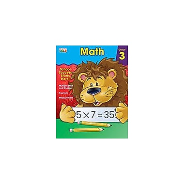 Carson-Dellosa Publishing Math, Grade 3 Workbook By Brighter Child, Grade 3 [eBook]
