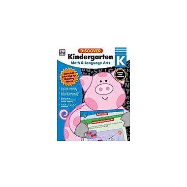 Carson-Dellosa Publishing Discover Kindergarten Workbook, Kindergarten [eBook]