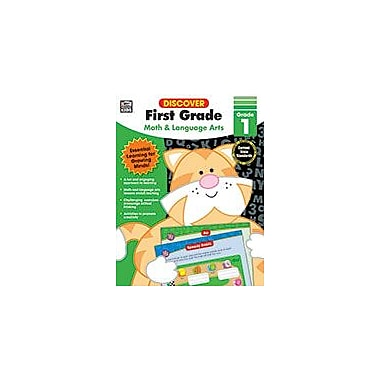 Carson-Dellosa Publishing Discover First Grade Workbook, Grade 1 [eBook]
