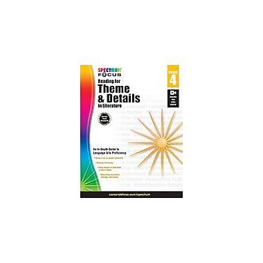 Carson-Dellosa Publishing Spectrum Reading For Theme And Details In Literature Workbook, Grade 4 [eBook]