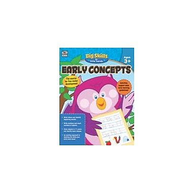 Carson-Dellosa Publishing Early Concepts Workbook, Preschool - Kindergarten [eBook]