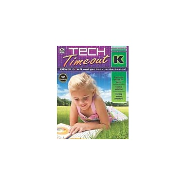 Carson-Dellosa Publishing Tech Timeout, Grade K Workbook, Kindergarten [eBook]