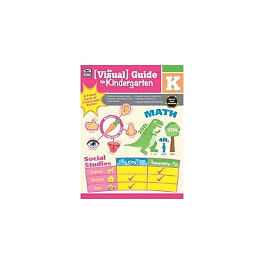 Carson-Dellosa Publishing Visual Guide To Kindergarten Workbook, Kindergarten [eBook]