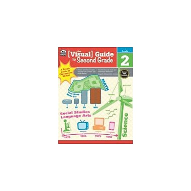 Carson-Dellosa Publishing Visual Guide To Second Grade Workbook, Grade 2 [eBook]