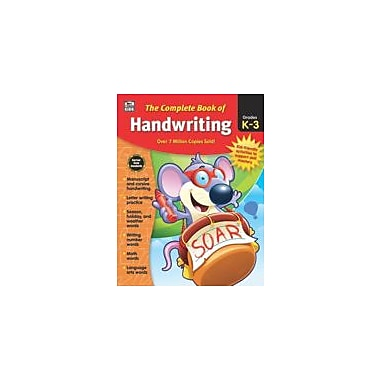 Carson-Dellosa Publishing Complete Book Of Handwriting, Grades K - 3 Workbook, Kindergarten - Grade 3 [eBook]