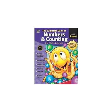 Carson-Dellosa Publishing Complete Book Of Numbers & Counting, Grades Pk - 1 Workbook, Preschool - Grade 1 [eBook]