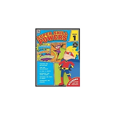 Carson-Dellosa Publishing Super Skill Powers, Grade 1 Workbook [eBook]