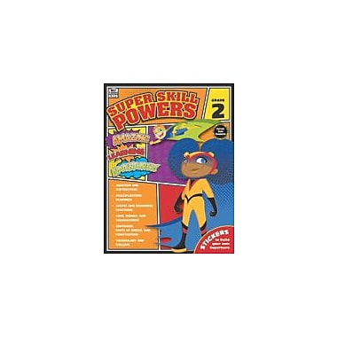 Carson-Dellosa Publishing Super Skill Powers, Grade 2 Workbook [eBook]