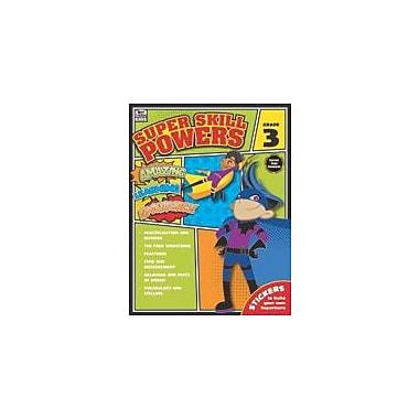 Carson-Dellosa Publishing Super Skill Powers, Grade 3 Workbook [eBook]