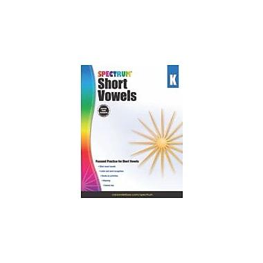 Carson-Dellosa Publishing Short Vowels, Grade K Workbook, Kindergarten [eBook]