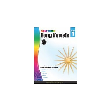 Carson-Dellosa Publishing Long Vowels, Grade 1 Workbook [eBook]