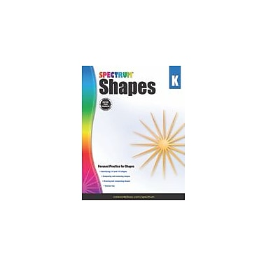 Carson-Dellosa Publishing Shapes, Grade K Workbook, Kindergarten [eBook]