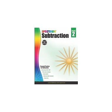 Carson-Dellosa Publishing Subtraction, Grade 2 Workbook [eBook]
