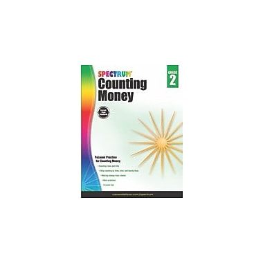 Carson-Dellosa Publishing Counting Money, Grade 2 Workbook [eBook]