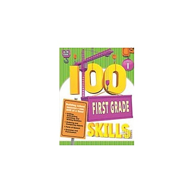 Carson-Dellosa Publishing 100 First Grade Skills Workbook, Grade 1 [eBook]