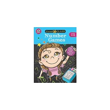 Carson-Dellosa Publishing Number Games, Grades 1 - 2 Workbook, Grade 1 - Grade 2 [eBook]