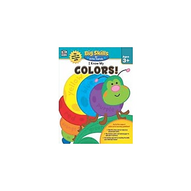 Carson-Dellosa Publishing I Know My Colors! Workbook, Preschool - Kindergarten [eBook]