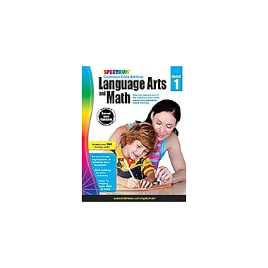 Carson-Dellosa Publishing Spectrum Language Arts And Math, Grade 1 Workbook [eBook]