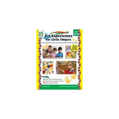 Carson-Dellosa Publishing Art Experiences For Little Fingers Workbook By Standke, Linda, Preschool - Grade 1 [eBook]