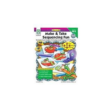 Carson-Dellosa Publishing Make And Take Sequencing Fun Workbook By Flora, Sherrill B., Preschool - Grade 2 [eBook]