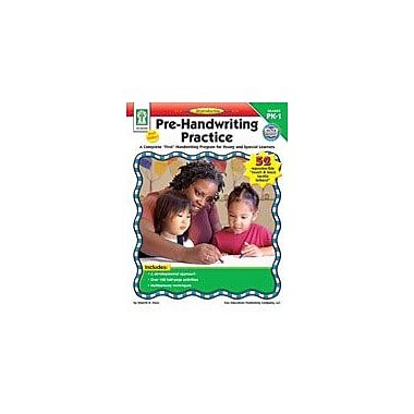 Carson-Dellosa Publishing Pre-Handwriting Practice Workbook By Flora, Sherrill B., Preschool - Grade 1 [eBook]