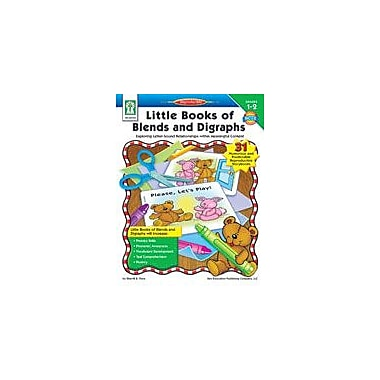 Carson-Dellosa Publishing Little Books Of Blends And Digraphs Workbook By Flora, Sherrill, Grade 1 - Grade 2 [eBook]