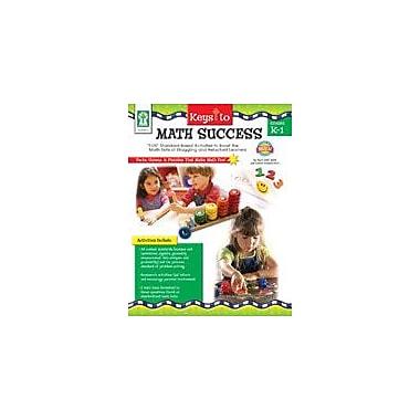 Carson-Dellosa Publishing Keys To Math Success Kindergarten - Grade 1 Workbook By Graham, Leland, Kindergarten - Grade 1 [eBook]