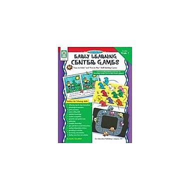 Carson-Dellosa Publishing Early Learning Center Games Workbook By Woodfield, Marilee, Preschool - Grade 1 [eBook]