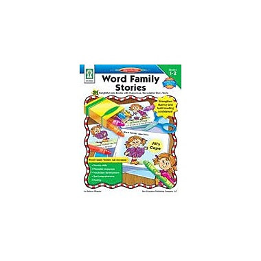 Carson-Dellosa Publishing Word Family Stories Workbook By Wheeler, Kate, Grade 1 - Grade 2 [eBook]