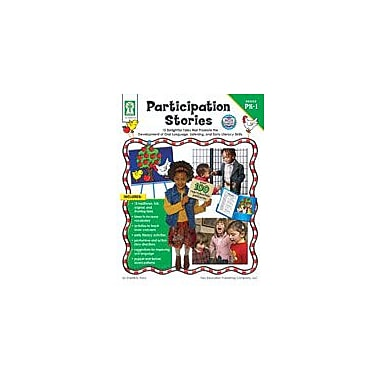 Carson-Dellosa Publishing Participation Stories Workbook By Flora, Sherrill B., Preschool - Grade 1 [eBook]