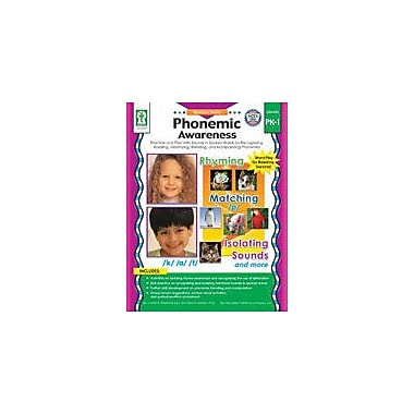 Carson-Dellosa Publishing Phonemic Awareness Workbook By Graham, Leland, Preschool - Grade 1 [eBook]
