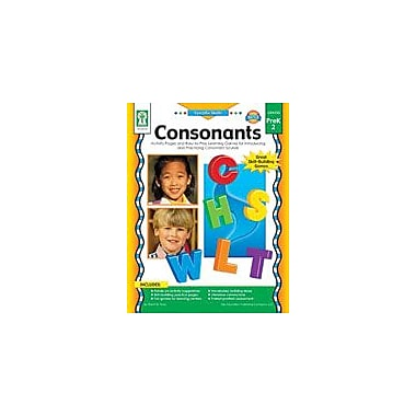 Carson-Dellosa Publishing Consonants Workbook By Flora, Sherrill B., Preschool - Grade 2 [eBook]