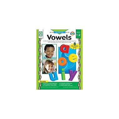 Carson-Dellosa Publishing Vowels Workbook By Graham, Leland, Grade 1 - Grade 2 [eBook]