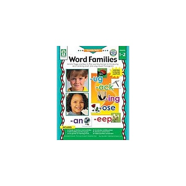 Carson-Dellosa Publishing Specific Skills: Word Families Workbook By Graham, Leland, Grade 1 - Grade 2 [eBook]