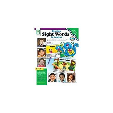 Carson-Dellosa Publishing Reading Sight Words In Context Workbook By Flora, Sherrill, Grade 1 - Grade 2 [eBook]