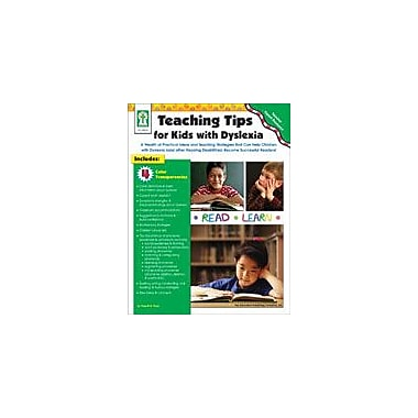 Carson-Dellosa Publishing Teaching Tips For Kids With Dyslexia Workbook By Flora, Sherrill B., Preschool - Grade 5 [eBook]