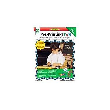 Carson-Dellosa Publishing Pre-Printing FUN Workbook By Flora, Sherrill, Preschool - Grade 1 [eBook]