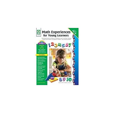 Carson-Dellosa Publishing Math Experiences For Young Learners Workbook By Woodfield, Marilee, Preschool - Kindergarten [eBook]